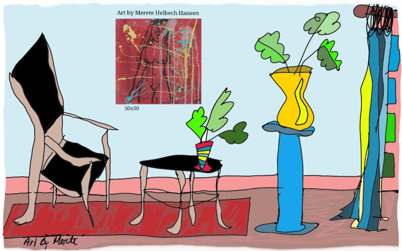 Merete Helbech. Illustration. Showroom