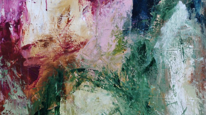 Unika maleri af Merete Helbech