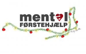 Mental Førstehjælp har valgt at sige glædelig jul ved blot at få julepyntet deres logo. Julepynt Merete Helbech Hansen