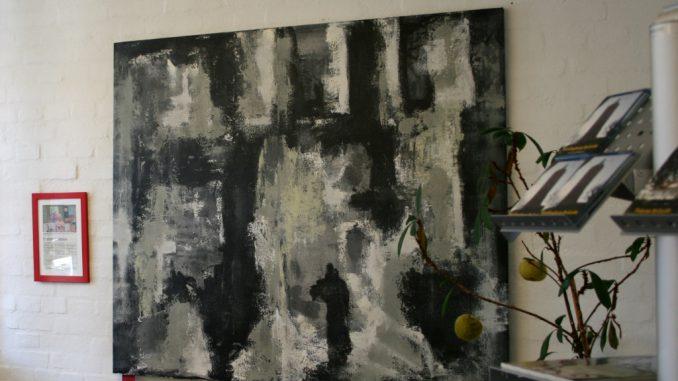 Er du til store malerier, med historie? så tjek dette maleri ud. Maleriet hænger hos Sjællandske Medier i Vordingborg og er lavet på bestilling af B&O som skulle bruge alle malerier til deres kampe for et af deres TV. Maleriet koster kr. 15.000 incl. moms og levering i DK. Det måler 120x140. Lærredet er den bedste hørkvalitet og blindrammen som det er spændt på på er virkelig gods. Er du interesseret i en kunst snak ? så fang mig på 4076 6990 eller artbymerete@gmail.com