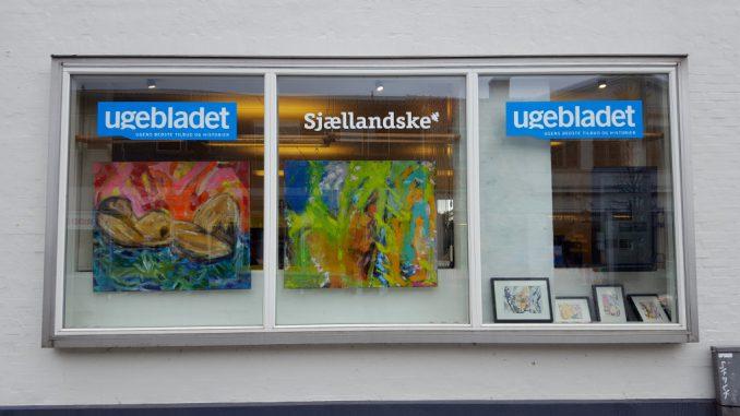 Forårsudstilling hos Sjællandske Medier i Vordingborg marts 2017.