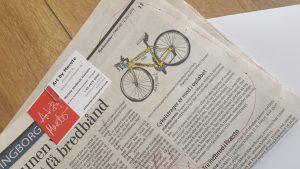Sjællandske Medier Vordingborg redaktionen bragte historien. Taknemmelig for den lokale presse interesse