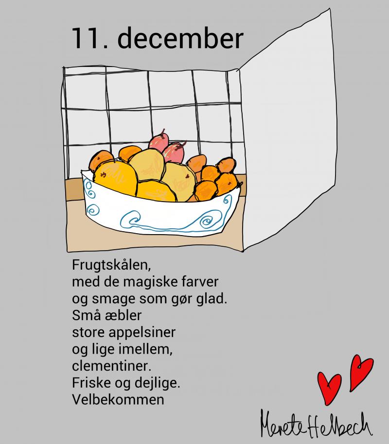 Merete Helbech. Julekalender