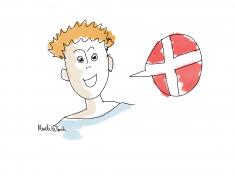 Merete Helbech. Learn danish. Thomas Helbech