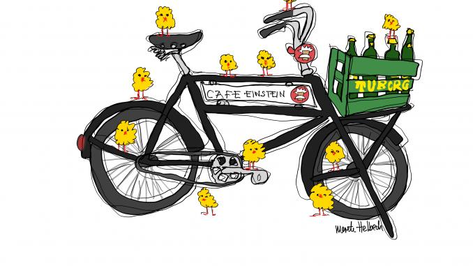 Merete Helbech. Cykelportrætter